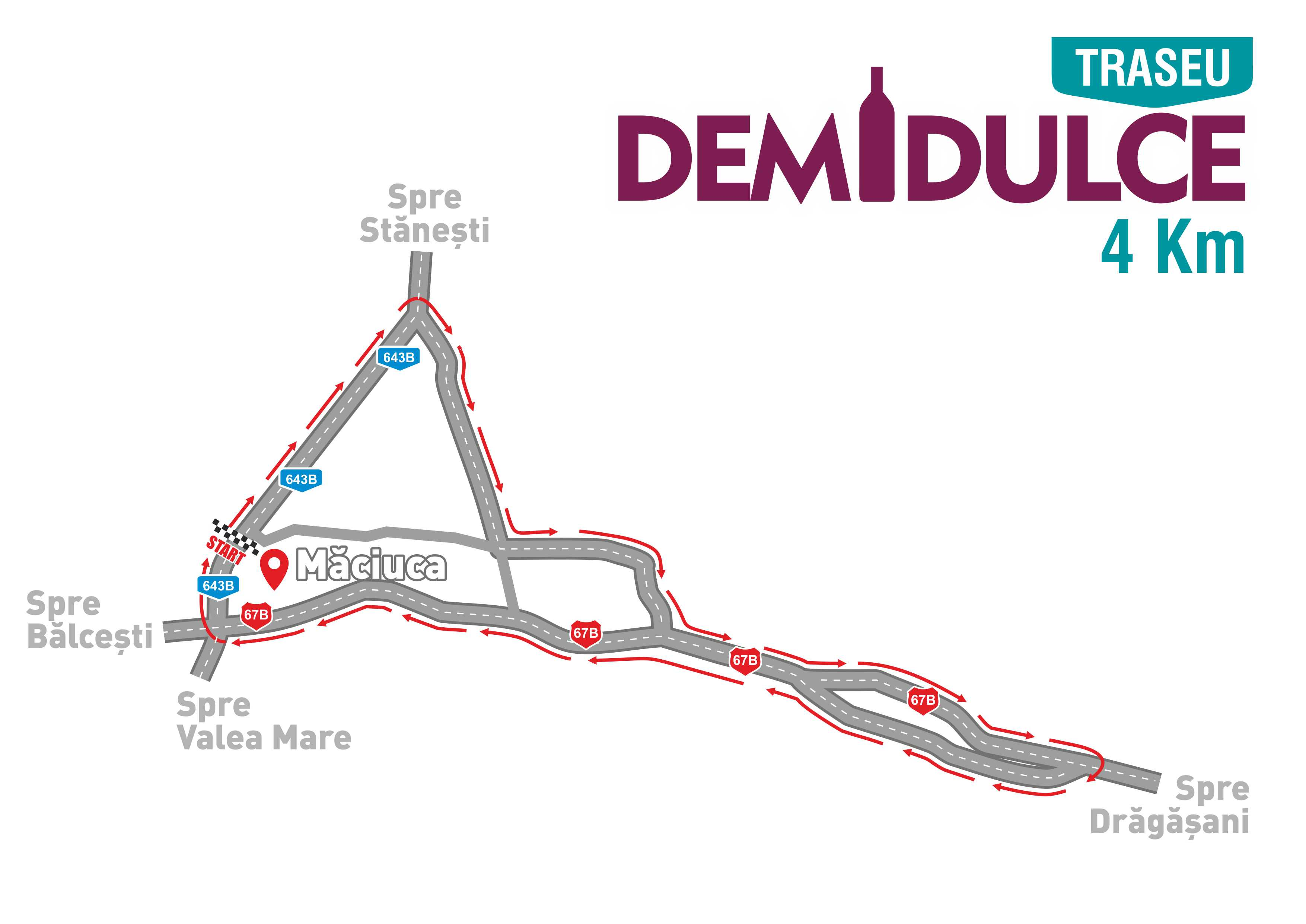 Traseu DEMIDULCE 4